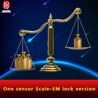 Wholesale real life room escape game weight prop Takagism game put the right weight on scale sensor to open the door one sensor scale