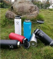 Wholesale Hydro Flask Wide Mouth Bottle oz oz oz Outdoor Coolers Stainless Steel Insulation Cup Cars Beer Mug OOA1210