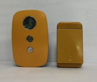 Wholesale New technoledge Battery free wirless V V doorbell with flash light easy install conveience and different color doorbell