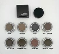 Wholesale 2017 new Pomade Medium Brown Waterproof Makeup Eyebrow g Blonde Chocolate Dark Brown Ebony Auburn Medium Brown TALPE
