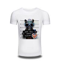 Men bad dog cartoon - Camping T Shirts men s Anime T Shirt One Piece bad dog creative Design T shirt Casual Funny Cartoon Tshirt Men Printed Tee cheap free