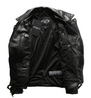 Wholesale Brand New Men s Harley Full Leather Coat Motorcycle Slim fit Spain American Spirit M L XL XXL All Size