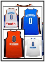 Wholesale Men s Russell Westbrook Jersey Adult Youth Embroidery Logos Russell westbrook Jerseys Kid s fast