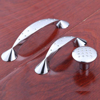 Wholesale 96mm modern simple silver watch tv table kitchen cabinet handles mm chrome drawer shoe cabinet knobs pulls quot quot cupboard