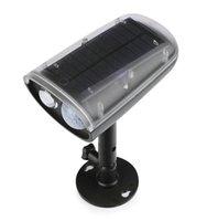 3W панели солнечных батареях Светодиодный прожектор PIR датчик движения свет Открытый Сад Дом Гараж Чрезвычайная Лампа безопасности Уличный свет