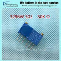 Wholesale W LF W K ohm Top regulation Multiturn Trimmer Potentiometer High Precision Variable Resistor