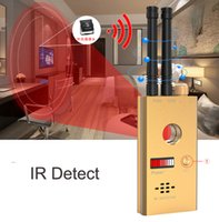 Wholesale CC312 Wireless Scanner Signal GSM Device Finder RF Detector Micro Wave Detection Security Sensor Alarm Anti Spy Bug Detect