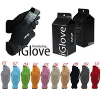 Wholesale Fashion IGlove Screen Touch Gloves Capacitive Gloves With Retail Package Unisex Winter