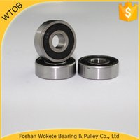 Wholesale Supply Small Bearings OnLine for Chrome Steel GCR15 RS Ball Bearing For Sale pc China Ball Bearing Factory