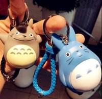 Wholesale 20151142 cartoon keychain and animation lovely chinchila car key chain key ring hanging bag color selection