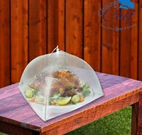 Wholesale Mesh Screen Food Cover Tents Set of Large Galvanized Steel Wire Pop Up Tents Stylishly and Conveniently Keeps Bugs Away From Food by Ch