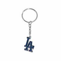 baseball key chains - Hot Sale Alloy With Enamel MLB Baseball Team LA Dodgers Logo Charm Car Key Chain Popular Men Jewelry