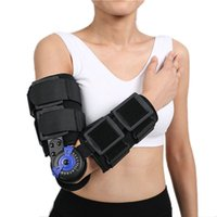 Wholesale Left Right Hinge Elbow Arm Brace used for Elbow Fracture Soft Tissue damage Forearm Fracture