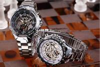 automatic sport bike - Luxury Titanium Automatic Chronograph Sports Wristwatch Men Fashion Brand Outdoor Motor Bike Stainless Steel Mechanical Watches Gift Box