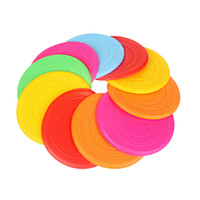 Wholesale Silicone Frisbee Parent child Interactive Outdoor Sports Toys Children Flying Disk Games Developing Kids Grasping Ability Gifts