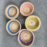 antique wire baskets - Wicker storage picnic basket zakka wire rustic basket fruit bread proofing basket decoration cm rattan easter for wedding