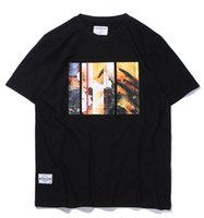 Wholesale FASHION TEE T SHIRT MEN WOMEN SUMMER BEFEARLESS HONGKONG BRAND colours black GREY white
