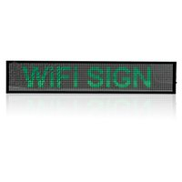 Wholesale P5 WIFI SMD Remote Control Time countdown display Led open Sign Android Phone Programmable Scrolling Message LED Display Board