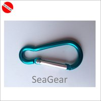 Wholesale clip headset shipping Free SCUBA Diving clip carabiner x46mm colorful carabin carabiner tool clip headset