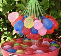 Wholesale 1set balloons Colorful Water Balloon Amazing Magic Water Balloons Bombs Toys for Children Summer Beach Water Sprinking Balloons F843