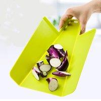 Wholesale 15pcs JOSEPH Kitchen Non slip Plastic Chopping Blocks Cutting Board Folding Chopping Fruit Board Rectangular DHL Free