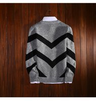 Wholesale 2016 new winter sweater to restore ancient ways small shark jacquard design pullovers men s clothing With thick warm sweater