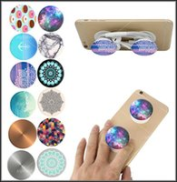 Wholesale Universal Pop Socket PopSockets Expanding Stand Stents Grip Flexible Sockets Phone Holder Bracket For Iphone s Plus s6 s7 edge s8 Tablets