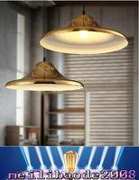 art ufo - LOFT Pendant Lamp Modern Fashion Nordic Art Minimalist Iron UFO Chandelier Dining Room Bar Cafe Light MYY