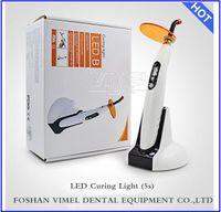 b cure - Free ship pc Cordless Dental LED Curing Light Lamp mw cm2 LED B Woodpecker Style Dental light