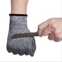 Wholesale Cut Resistant Gloves Kitchen Gloves with Food Grade Level Hand Protection Light weight Work Safety Gloves DHL Free