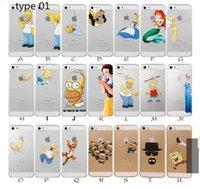 ariel snow white - Princess Snow White Frozen Elsa Little Mermaid Ariel Semi Simpsons Spiderman Matte Clear Case for iphone S C S