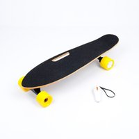 Wholesale Electric Skateboard Wheels Single Drive Motor Remote Control Portable Wooden Drifting Self Balancing Sports Scooter E Longboard
