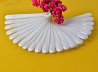 Wholesale 2set set Pattern Articles fake Nail display tips Polish Exhibition Color Card Plastic false artificial nails