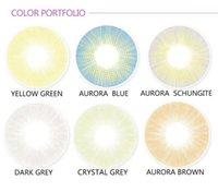 aurora shipping - Aurora Natural hybrid Color Eye Contact lenses eye contacts eye makeup mm yearly use eye makeup cheap contact lens