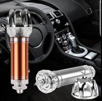 Wholesale Car Air Purifier Auto Anion Air Freshener Oxygen Bar Lonizer Interior Decoration Freshener Remove Smoke and Cleaner