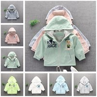 Wholesale Girls Spring Coat Kids Clothing Fall Hoodie for Boys Cartoon Totoro Stitch Jackets Children Outerwear Fashion Toddler Clothes