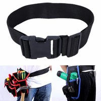 Wholesale Black Release Buckle Nylon Adjustable Strap Band Work Tool Waist Belt Bag New