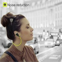 Wholesale Portable Neckband Noise Cancelling Stereo Headset Sport In Ear Earphone Earbuds Microphone Running QY7 wireless bluetooth headphones