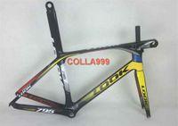 Wholesale Look Full Carbon Road Bike - LOOK 795 K2 White Road bike Frame Aerolight full carbon fiber bicycle frame (51,53,56,58cm) Frame+Seatpost+Fork+Clamp+Headset+Stem..