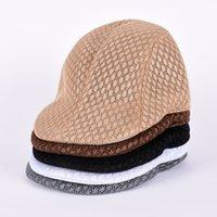 Wholesale All Seasons Fashion Gentleman Octagonal Cap Newsboy cap men Beret Hat Flat Caps for men Beret cap for women