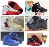 Wholesale 2016 Retro XII Royal Blue Basketball Shoes Brand s Flu Game Gym Red ovo playoffs Wolf grey The Master Sport Sneakers