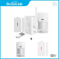 Wholesale New Broadlink S1 S1C SmartOne Alarm Security Kit TWO sensor For Home Smart Home Alarm System IOS Android Remote Control