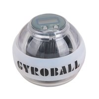Wholesale Multicolor Massage Ball Fitness Equipment Wrist Hand Ball Wrist Exercise Ball Wrist Gyro Exercise Ball With LED Light