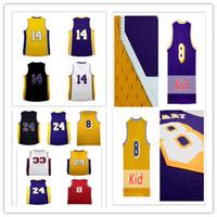 Wholesale 2017 New Men s Draft Brandon Ingram Jerseys Cheap Ingram K B Basketball Jersey embroidery logo