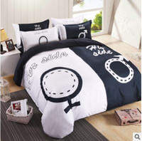 Wholesale new She is a simple couple bed kit kit home textile d bedding set