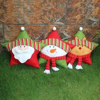 Wholesale The Christmas Star Pillow Christmas Gift Christmas Ornaments