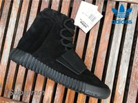 Cheap Authentic Adidas Yeezy 750 Boost Black BB1839 Mens Basketball Shoes Women Kanye West Boost 750 Yezzy Shoes Fashion Yeezys Sneaker With Box