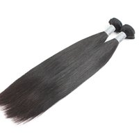 Livraison gratuite Indian Hair Straight 2 Bundles Unprocessed Human Hair Weave Bundles 10-30 pouces Uglam Hair Products