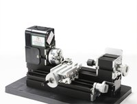 mini lathe - 24W All Metal Mini Lathe used r min W Motor mini lathe for students DIY Works best gift for children s Gift