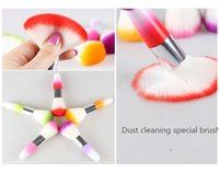 Wholesale Nail Dust Cleaning Brush UV Gel Polish Rhinestones Decoration Remove Nail Dust Brushes Manicure Makeup Brushes For Nail